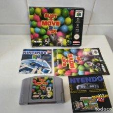 Videojuegos y Consolas: BUST -A- MOVE 3 DX N64 MIRE MIS OTROS JUEGOS NINTENDO SONY SEGA MEGADRIVE DREAMCAST SATURN SNES N64. Lote 235712310