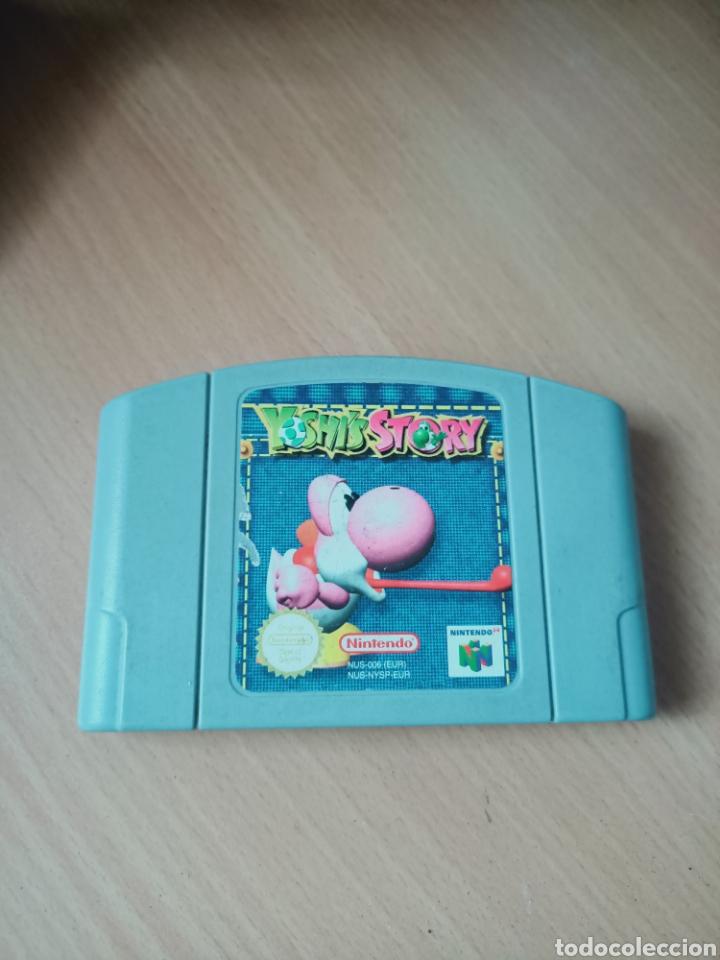 NINTENDO 64 YOSHIS STORY (Juguetes - Videojuegos y Consolas - Nintendo - Nintendo 64)