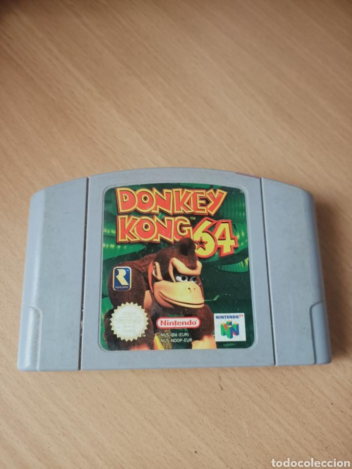 NINTENDO 64 DONKEY KONG 64 (Juguetes - Videojuegos y Consolas - Nintendo - Nintendo 64)
