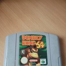 Videojuegos y Consolas: NINTENDO 64 DONKEY KONG 64. Lote 236746695