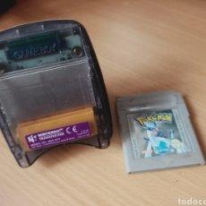 Videojuegos y Consolas: NINTENDO 64 TRANSFER PAK + POKEMON PLATA. Lote 236746985