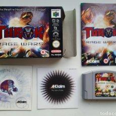 Videojuegos y Consolas: TUROK RAGE WARS NINTENDO 64. Lote 236932695