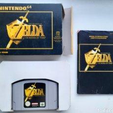 Videojuegos y Consolas: ZELDA OCARINA OF TIME NINTENDO 64. Lote 236933045