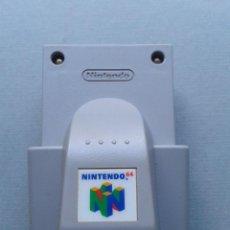 Videojuegos y Consolas: NINTENDO 64 RUMBLE PAK NUS-013 ORIGINAL FUNCIONANDO SIN TAPA DE PILAS N64 R12059. Lote 237034055
