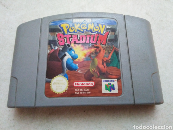 POKEMON STADIUM NINTENDO 64 (Juguetes - Videojuegos y Consolas - Nintendo - Nintendo 64)