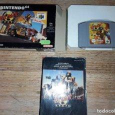 Videojuegos y Consolas: NINTENDO 64 BLAST CORPS, COMPLETO.. Lote 239986335