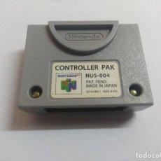 Videogiochi e Consoli: CONTROLLER PAK NINTENDO 64/MEMORY PACK.. Lote 240643945