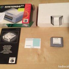 Videojogos e Consolas: CONTROLLER PAK COMPLETO NINTENDO 64 - PAL ESPAÑA - TARJETA DE MEMORIA N64 - MEMORY CARD. Lote 240686740