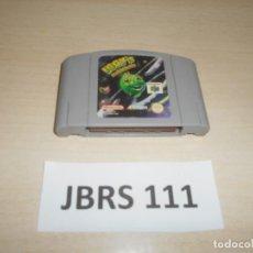 Videojuegos y Consolas: NINTENDO 64 - IGGY,S ROCKING BALLS , PAL UK , SOLO CARTUCHO. Lote 240916325