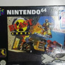Videogiochi e Consoli: BLAST CORPS - NINTENDO 64 - CAJA E INSTRUCIONES. Lote 267104604