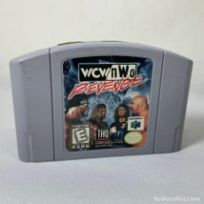 Videojuegos y Consolas: VIDEOJUEGO - NINTENDO - NINTENDO 64 - WCW NWO REVENGE - USA. Lote 243638570