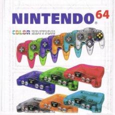 Videojuegos y Consolas: FOLLETO DESPLEGABLE PUBLICIDAD NINTENDO 64 AÑO 2000. Lote 243658805