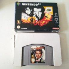 Videojuegos y Consolas: GOLDENEYE 007 PARA N64 NINTENDO ENTRE Y MIRE MIS OTROS JUEGOS DE OTRAS CONSOLAS RETRO.. Lote 244243880