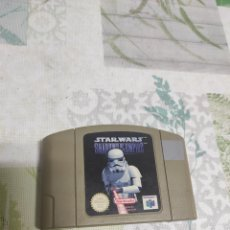 Videojuegos y Consolas: JUEGO NINTENDO 64 STAR WARS SHADOWS OF THE EMPIRE. Lote 244513445