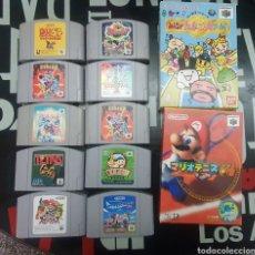 Videojuegos y Consolas: LOTE 12 JUEGOS NINTENDO 64. Lote 244540640