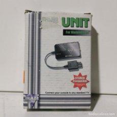 Videojuegos y Consolas: UNIT FOR NINTENDO 64 - CONNECTOR PARA TELEVISION DE NINTENDO 64 - NUEVO EN CAJA. Lote 244662260