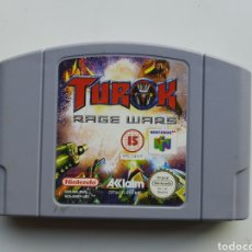 Videojuegos y Consolas: TUROK RAGE WARS NINTENDO 64. Lote 244894890