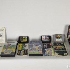 Videojuegos y Consolas: LOTE DE JUEGOS SEGA MEGA DRIVE, NINTENDO 64, MEMORY CARD.... Lote 244935330