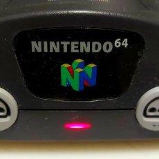 Videojuegos y Consolas: ANTIGUA CONSOLA NINTENDO 64 - FUNCIONANDO Y COMPROBADA. Lote 245745965
