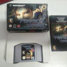 Videojuegos y Consolas: PERFECT DARK PARA N64 NINTENDO ENTRE Y MIRE MIS OTROS JUEGOS!. Lote 245950010