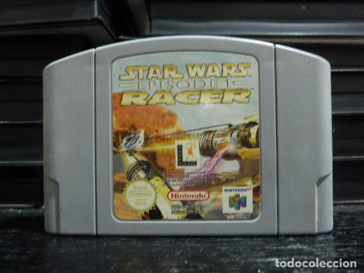 JUEGO DE NINTENDO 64 STAR WARS EPISODE I RACER (Juguetes - Videojuegos y Consolas - Nintendo - Nintendo 64)