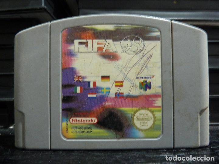 JUEGO DE NINTENDO 64 FIFA 98 (Juguetes - Videojuegos y Consolas - Nintendo - Nintendo 64)