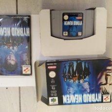 Videojogos e Consolas: HYBRID HEAVEN N64 NINTENDO 64 COMPLETO VERSION PAL-EUROPE ORIGINAL 100%. Lote 246272605