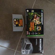 Videojuegos y Consolas: DONKEY KONG N64 NINTENDO 64 + BOX CAJA , ORIGINAL 100% PAL-EUROPE. Lote 246291985