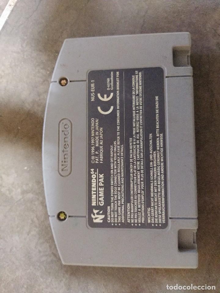 Videojuegos y Consolas: DONKEY KONG N64 NINTENDO 64 + BOX CAJA , ORIGINAL 100% PAL-EUROPE - Foto 3 - 246291985