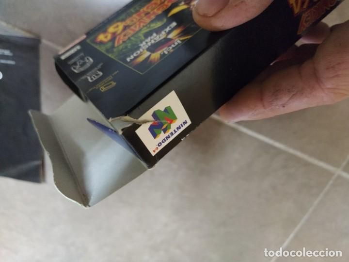 Videojuegos y Consolas: DONKEY KONG N64 NINTENDO 64 + BOX CAJA , ORIGINAL 100% PAL-EUROPE - Foto 8 - 246291985
