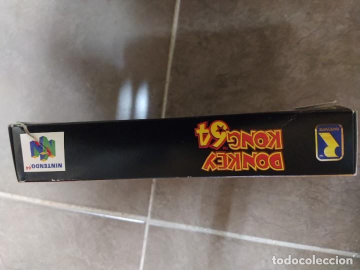 Videojuegos y Consolas: DONKEY KONG N64 NINTENDO 64 + BOX CAJA , ORIGINAL 100% PAL-EUROPE - Foto 11 - 246291985
