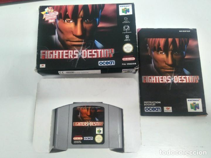 FIGHTERS DESTINY PARA NINTENDO N64 ENTRE Y MIRE MIS OTROS JUEGOS! (Juguetes - Videojuegos y Consolas - Nintendo - Nintendo 64)