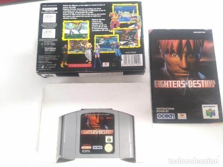Videojuegos y Consolas: FIGHTERS DESTINY PARA NINTENDO N64 ENTRE Y MIRE MIS OTROS JUEGOS! - Foto 2 - 246520655