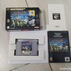 Videojogos e Consolas: JET FORCE JETFORCE GEMINI N64 NINTENDO 64 COMPLETO PAL-EUROPE ORIGINAL 100%. Lote 246553410