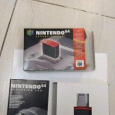 Videojuegos y Consolas: EXPANSION PAK N64 NINTENDO 64 COMPLETO ORIGINAL 100%. Lote 247705090