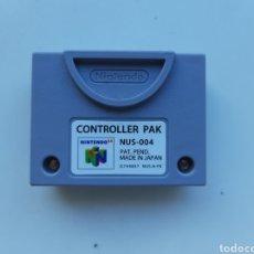 Videogiochi e Consoli: CONTROLLER PAK MEMORY CARD NINTENDO 64. Lote 249241595