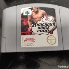 Jeux Vidéo et Consoles: KNOCKOUT KINGS 2000 - NINTENDO 64 N64 - PAL. Lote 249527015