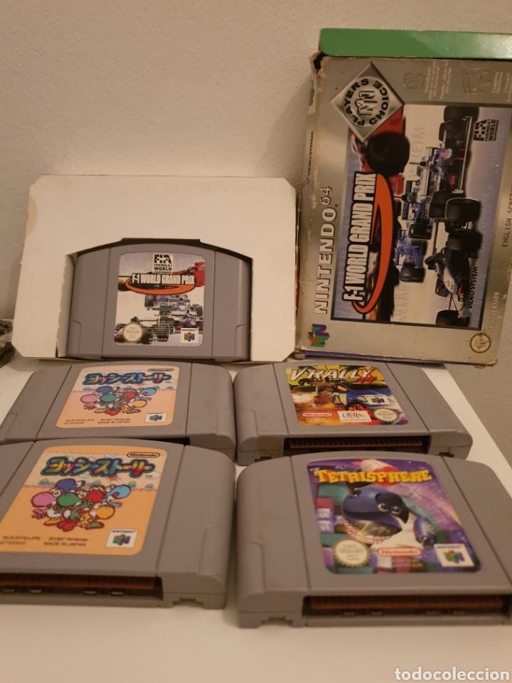 LOTE 5 JUEGOS NINTENDO 64 (Juguetes - Videojuegos y Consolas - Nintendo - Nintendo 64)