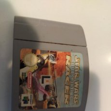 Videojuegos y Consolas: STAR WARS RACER NINTENDO N64 , SOLO CARTUCHO. Lote 254012575