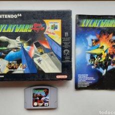 Videojuegos y Consolas: LYLAT WARS LYLATWARS COMPLETO NINTENDO 64. Lote 254566505