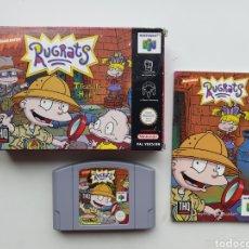 Videojuegos y Consolas: RUGRATS NINTENDO 64. Lote 254566825