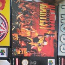 Videojuegos y Consolas: ANTIGUO JUEGO DE NINTENDO 64 HARVEST BODY. Lote 254568710