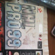 Videojuegos y Consolas: ANTIGUO JUEGO NINTENDO NHL PRO 99. Lote 254570160