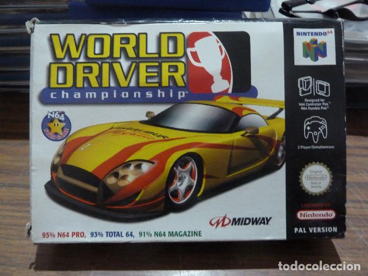 WORLD DRIVER CHAMPIONSHIP PARA NINTENDO 64 (Juguetes - Videojuegos y Consolas - Nintendo - Nintendo 64)