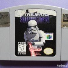 Videojogos e Consolas: NINTENDO 64 STAR WARS SHADOWS OF THE EMPIRE. Lote 258098220