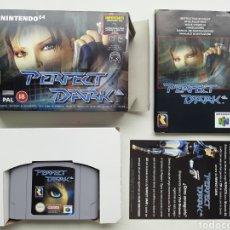 Videogiochi e Consoli: PERFECT DARK COMPLETO NINTENDO 64. Lote 260276540