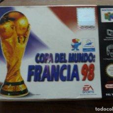 Videojuegos y Consolas: COPA DEL MUNDO FRANCIA 98 PARA NINTENDO 64. Lote 261644735