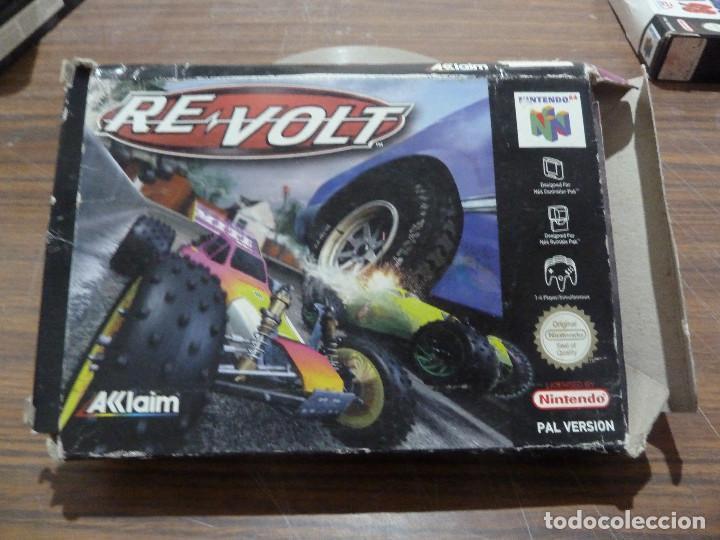 RE VOLT PARA NINTENDO 64 (Juguetes - Videojuegos y Consolas - Nintendo - Nintendo 64)