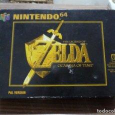 Videojuegos y Consolas: THE LEGEND OF ZELDA OCARINA OF TIME PARA NINTENDO 64. Lote 261645160