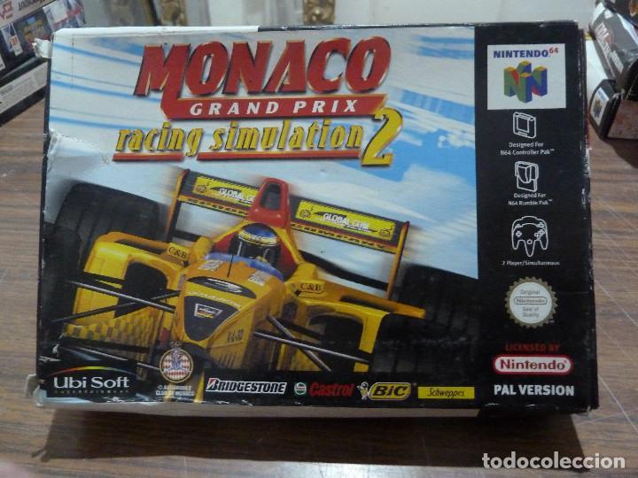 MONACO GRAND PRIX RACING SIMULATION 2 PARA NINTENDO 64 (Juguetes - Videojuegos y Consolas - Nintendo - Nintendo 64)